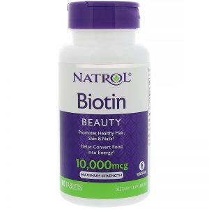 Купить Biotin Natrol в Ташкенте